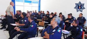 Reciben fuerzas de seguridad, capacitación en materia de violencia de género y cadena de custodia