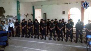 Instruye SSPO a la Policía Municipal de San Pedro Jicayán en materia de vialidad