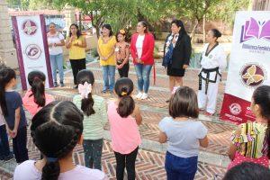 Promueve Ayuntamiento de Oaxaca de Juárez autonomía de las mujeres desde la niñez
