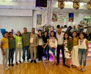 Realiza el Gobierno del Estado las ediciones 31 y 32 del Programa Guelaguetza Familiar en Riverside, California, EU.