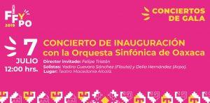 Domingo de música sinfónica en el Teatro Alcalá de Oaxaca