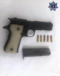 Es detenida en la Costa una persona armada sin licencia de la Sedena