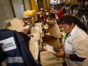 Correos de México observa un desplome de ingresos