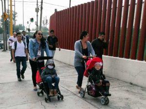 Acuden a San Lázaro padres de niños con cáncer