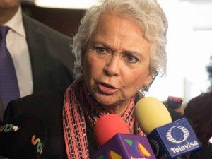 Niega Sánchez Cordero que Estado esté rebasado por inseguridad