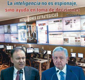 La inteligencia no es espionaje, sino ayuda en toma de decisiones: Carlos Ramírez