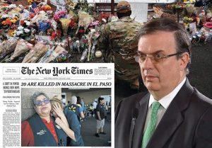 El Paso: ni armas, ni racismo; sólo lágrimas por las víctimas: Carlos Ramírez