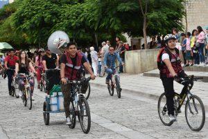 Ayuntamiento de Oaxaca de  Juárez invita a rodada ciclista