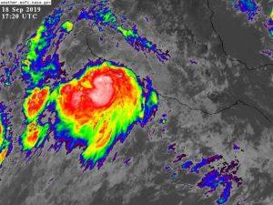 Tormenta 'Lorena' podría evolucionar a huracán esta tarde