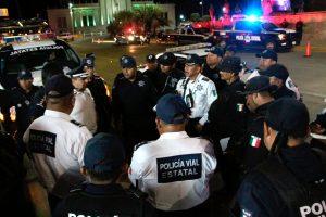 Tres órdenes de gobierno refuerzan  operativos de seguridad en Oaxaca de Juárez