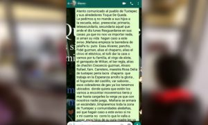 Con terror, narcos pasan la factura a los tuxtepecanos: Alfredo Martínez de Aguilar