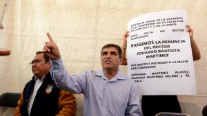 Por violar amparo, detendrían y cesarían al rector de UABJO: Alfredo Martínez de Aguilar