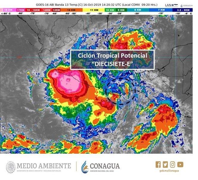 Autoriza IEEPO suspensión de clases por motivo de lluvias en Istmo, Costa, Mixteca y Sierra Sur