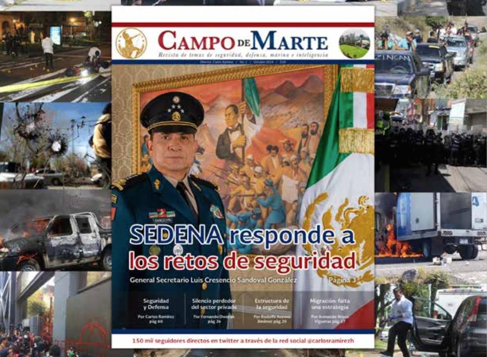 Revista Campo de Marte: seguridad, defensa, marina, inteligencia: Carlos Ramírez