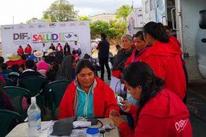 Cumple siete días Caravana DIF en la región de la Cañada