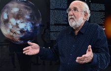 Swiss astrophysicist Michel Mayor, the Nobel Prize in Physics 2019 and co-discoverer of the first exoplanet, speaks during an AFP interview at the Spanish Astrobiology Center in Torrejon de Ardoz on October 9, 2019. (Photo by JAVIER SORIANO / AFP)