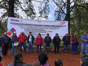 Avanza en un 70% entrega de obras del Programa de Apoyos a Pequeños Productores: Sedapa
