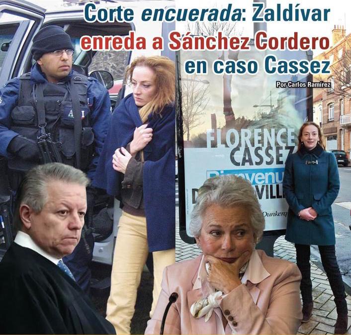 Corte encuerada: Zaldívar enreda a Sánchez Cordero en caso Cassez: Carlos Ramírez