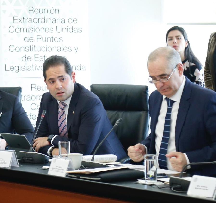 A favor senador Raúl Bolaños del  llamado a la Colegisladora para una coordinación entre Cámaras