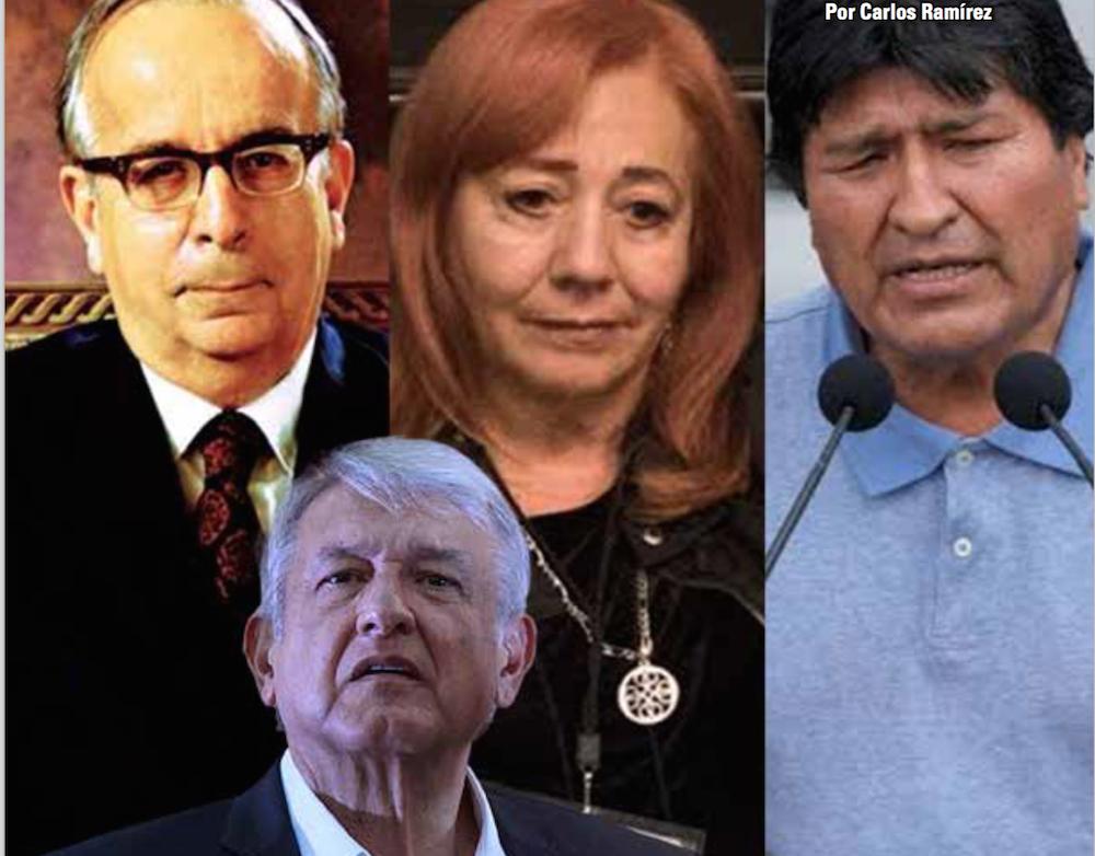 Evo: ejército le hizo ¡bu! y salió huyendo; CNDH y Garza Sada: Carlos Ramírez