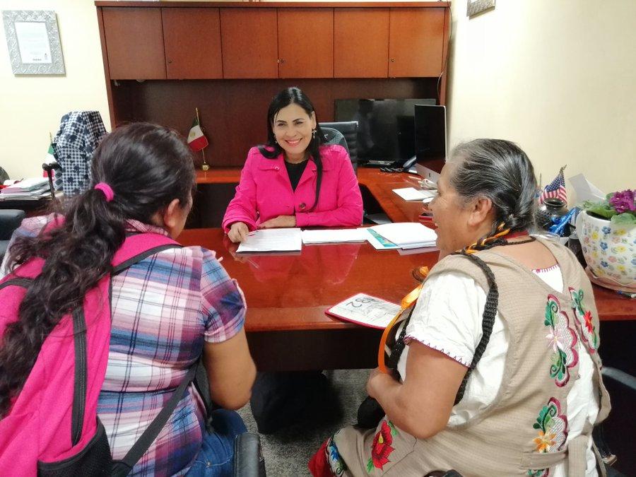 Continúa IOAM otorgando asesoría y acompañamiento gratuito para beneficiarse del programa Guelaguetza Familiar