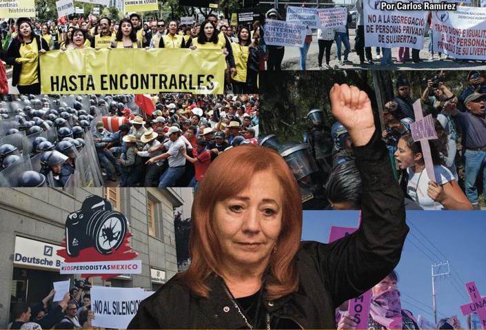 Derechos humanos: en una comisión o en las calles y medios, como antes: Carlos Ramírez