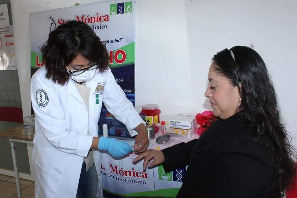 La Dirección de Salud del Municipio de Tlaxiaco, llevó a cabo actividades por el día mundial de la diabetes