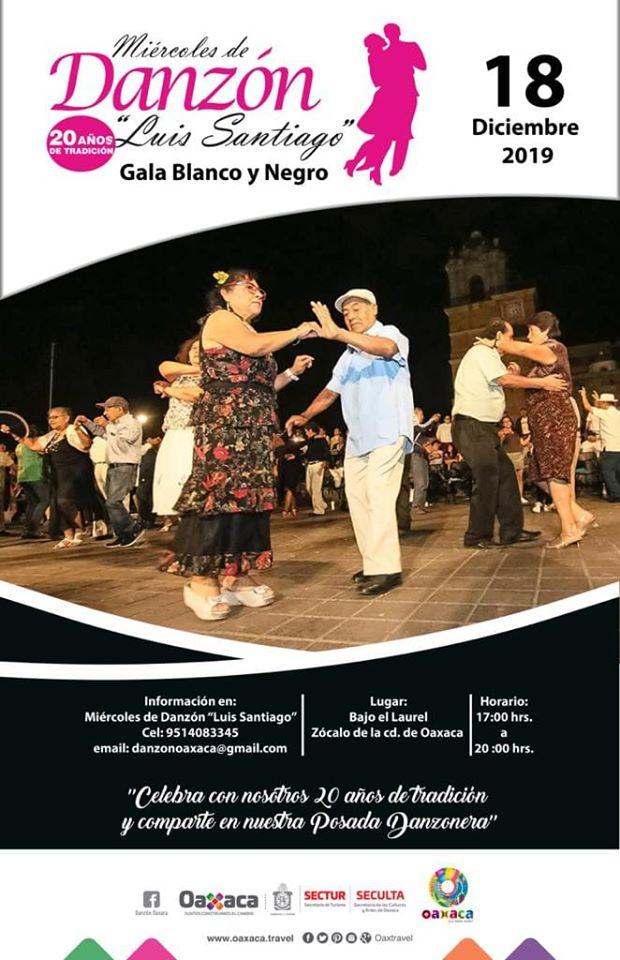 Celebra Seculta el XX aniversario de miércoles de danzón en Oaxaca