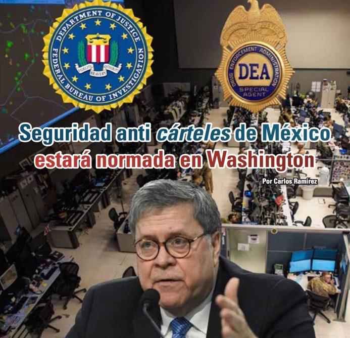 Seguridad anti cárteles de México estará normada en Washington: Carlos Ramírez