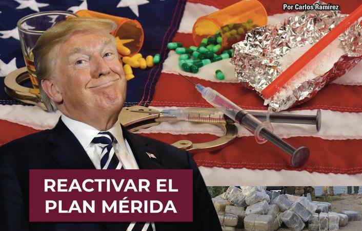 Narcoterrorismo, no; cárteles de México en EU por corrupción allá: Carlos Ramírez