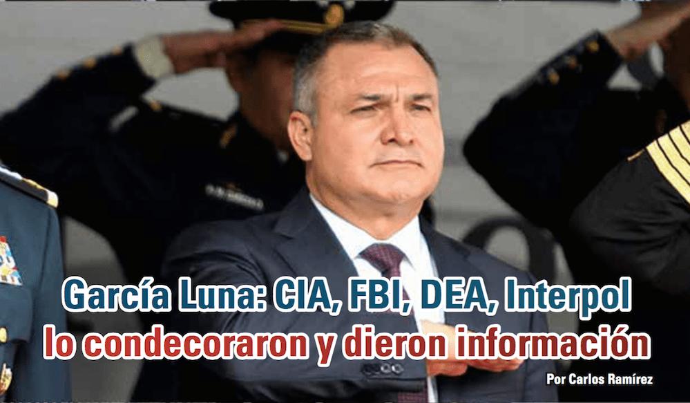 García Luna: CIA, FBI, DEA, Interpol lo condecoraron y dieron información: Carlos Ramírez