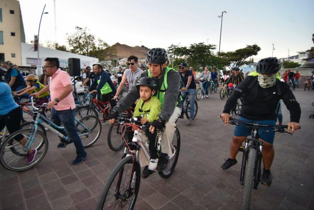 Conmina Ayuntamiento de la ciudad de Oaxaca al uso de medio de transportes sustentables