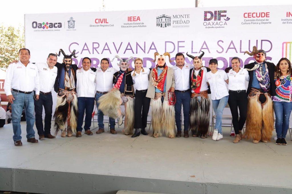 Trabajamos con y por amor a Oaxaca: IMM