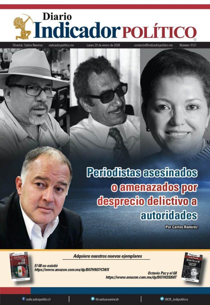 Periodistas asesinados o amenazados por desprecio delictivo a autoridades: Carlos Ramírez