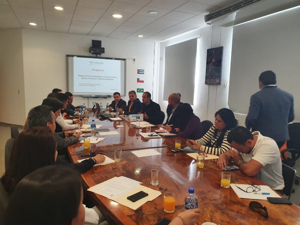 El Incude Oaxaca asiste a la reunión de trabajo en la Conade