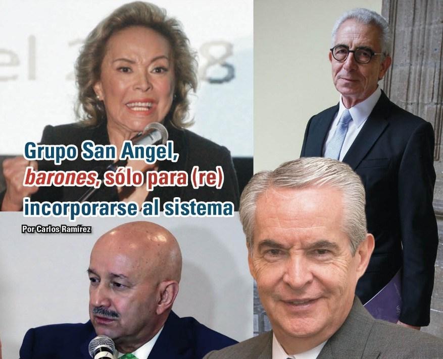 Grupo San Angel, barones, sólo para (re) incorporarse al sistema: Carlos Ramírez