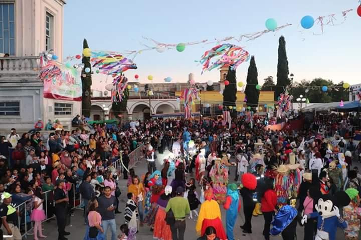 Con gran éxito se llevó a cabo el 2o. Domingo del carnaval Tlaxiaco 2020