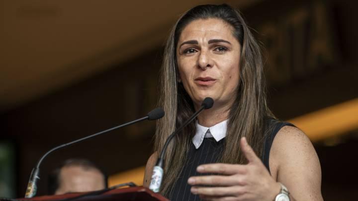 """Ana Guevara califica como prostitutas a los deportistas que se adhirieron al programa """"Voy X Mex"""""""