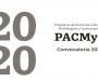 Este viernes, cierra la convocatoria PACMyC 2020