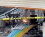 Cuantiosos daños materiales dejó el incendio en bodega de pinturas en Oaxaca